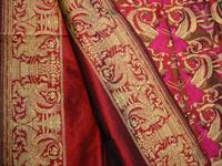 broccato di seta zari di Varanasi
